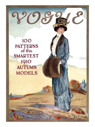Le evoluzioni delle copertine di #Vogue - Timeless Beauty Vogue 1911