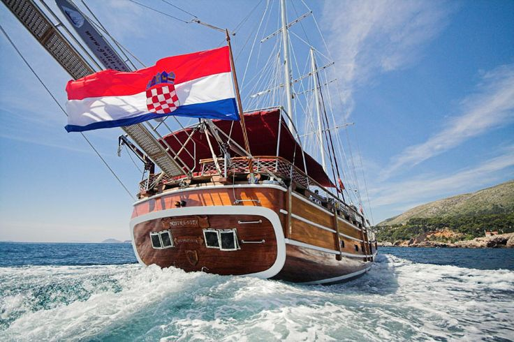 Yachts through Croatia