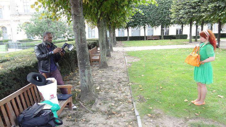 Shoot Jardin des tuileries- Paris