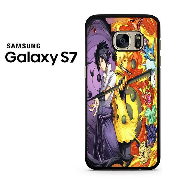 Naruto Dan Sasuke Rikudo Sennin Samsung Galaxy S7 Case