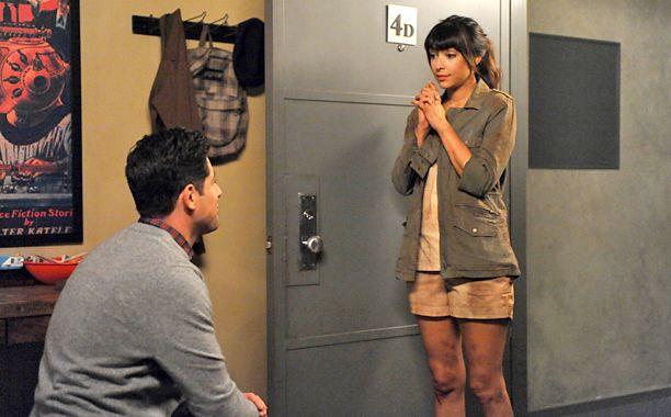Schmidt proposes to Cece