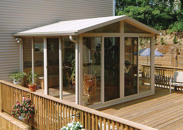 The 25+ best Sunroom kits ideas on Pinterest   Sunroom diy ... on Cheap Patio Enclosure Ideas  id=14242