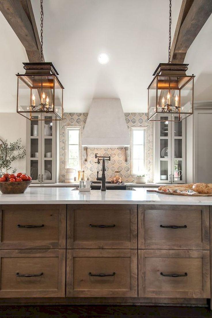 Gorgeous farmhouse kitchen cabinets makeover ideas 3