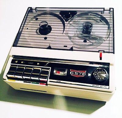 Registratore a Bobine Vintage Geloso G570 Non Funzionante | eBay