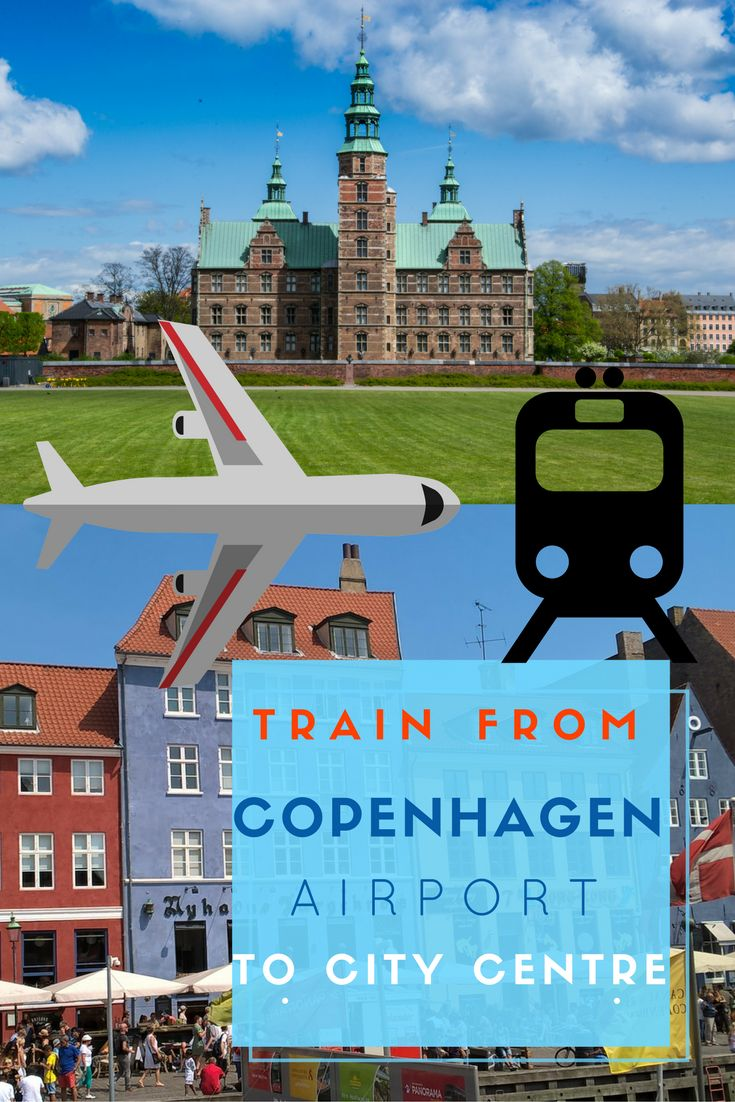 Train From Copenhagen Airport to Copenhagen Central Station. After battling the airport crowds the last thing you need is a confusing transfer from the airport to your accommodation. via @NiceRightNow