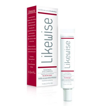 Likewise Youthful Eye Complex – encapsulated Retinol helps reduce signs of aging, while softening wrinkles and building on your collagen. #skincare #antiaging