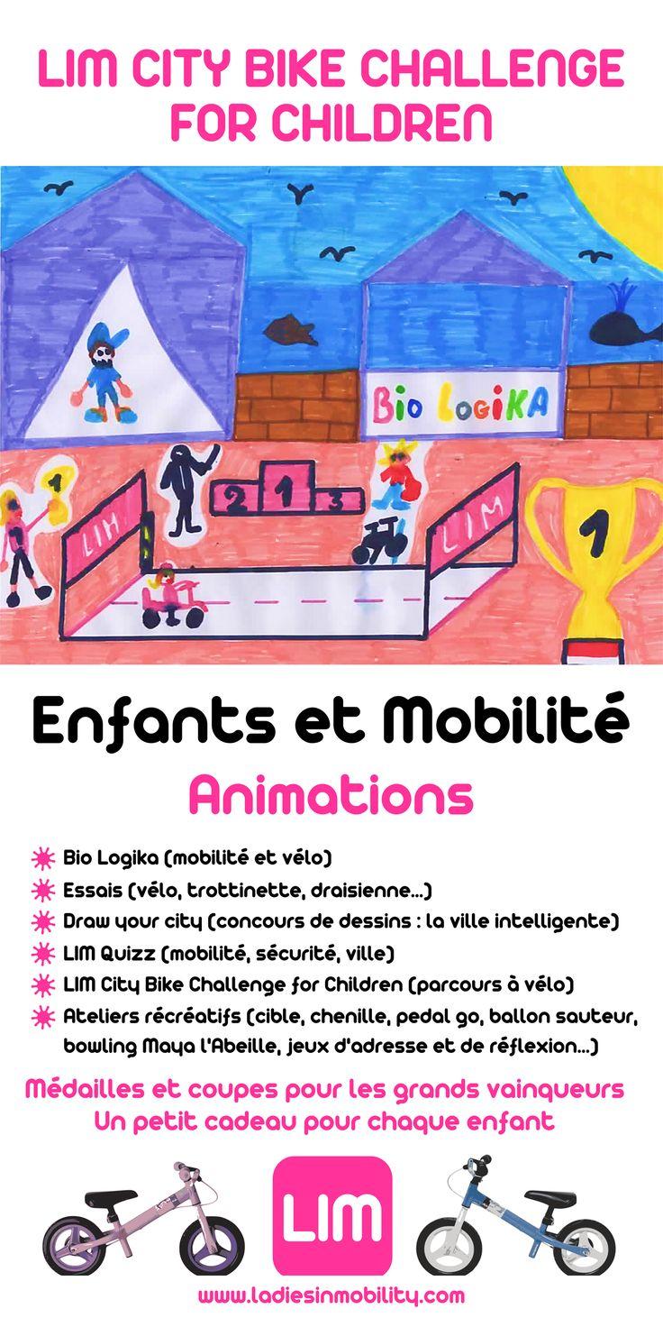 Pendant la Semaine de la Mobilité, organisée à Monaco par la Direction de l'Environnement, LIM proposera le LIM CITY BIKE CHALLENGE FOR CHILDREN. PROGRAMME DES ANIMATIONS LIM CITY BIKE CHALLENGE FOR CHILDREN Sur un parcours vélo ludique et sécurisé, les enfants pourront tester leur endurance à vélo. Plus ils pédalent, plus ils se positionnent…