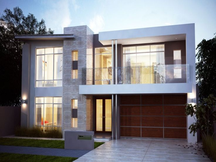 Best 25 modern house facades ideas on pinterest modern Houses with stone facade