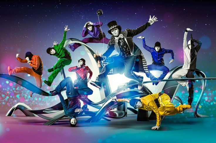jabbawockeez! saw this show in Vegas. Followed them since the beginning. Their moves are so gravitating