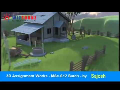 3D Assignment works of MSc.S12 batch