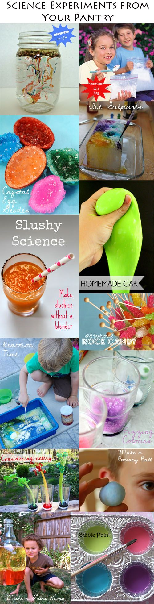 KidStyleFile Roundup: Cool Kids Science Experiments To Make With Pantry Items