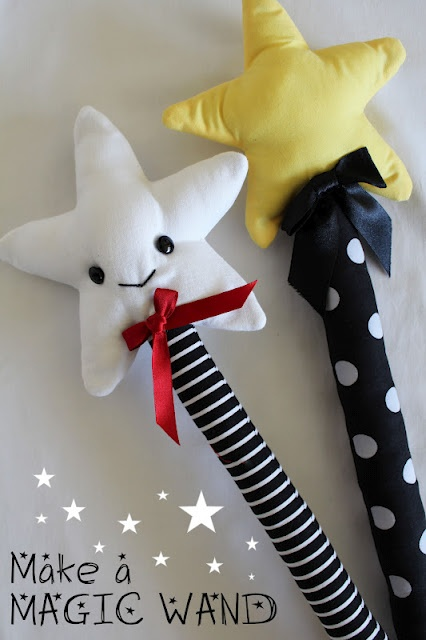 DIY: Make a star-topped wand ☆