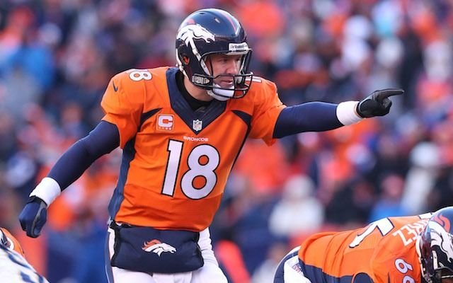 """""""Omaha! Hurry, Hurry."""" Let's go, Peyton Manning! #SuperBowl"""