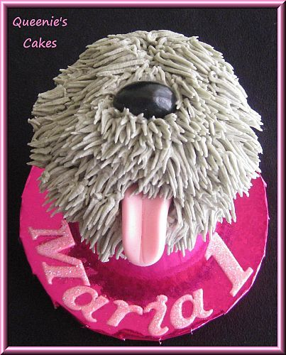 I need to have this sheepdog cake made for Dink's next bday!