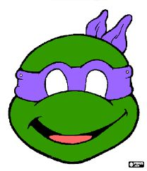 Image result for template for ninja turtle mask
