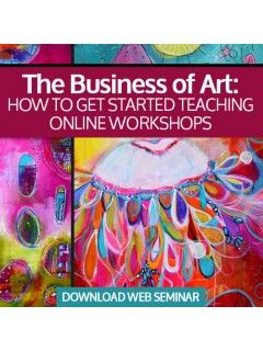 Learn how to successfully teach online art classes and workshops with this web seminar from Jodi Ohl. Expand your art business, learn new ne...