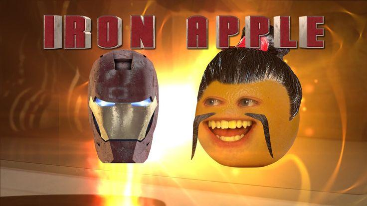 Annoying Orange - Iron Apple (Iron Man 3 Spoof)