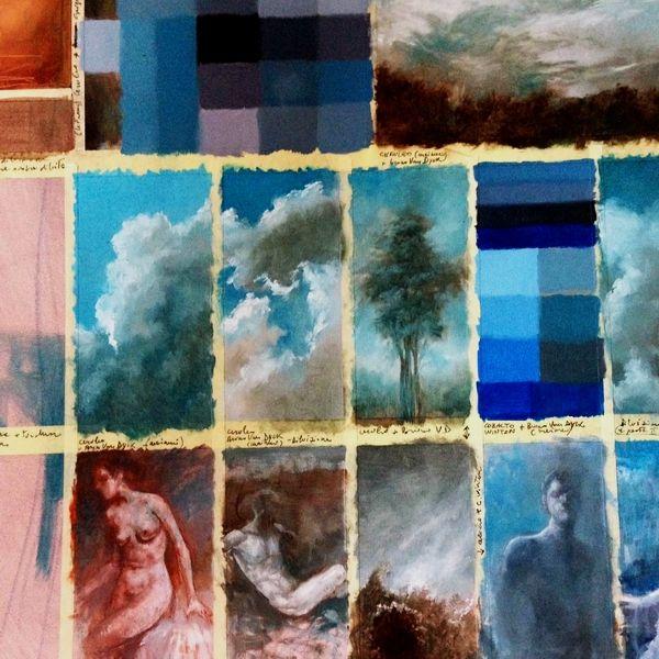 Corso di Illustrazione. A cura di Vittorio Bustaffa. Ricerca di colore. Esercitazione scolastica. #bustaffa #illustrazione #scuolainternazionaledicomics