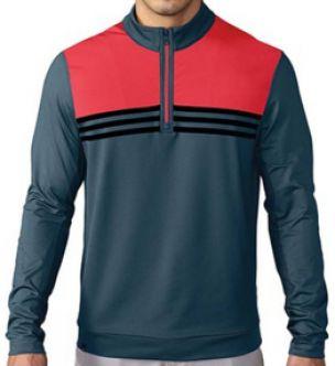Jersey de golf Adidas Climacool Color-Blocked® 1/4 Zip Layering   Fabricado con 87% Polyester Y 13% Elastano.