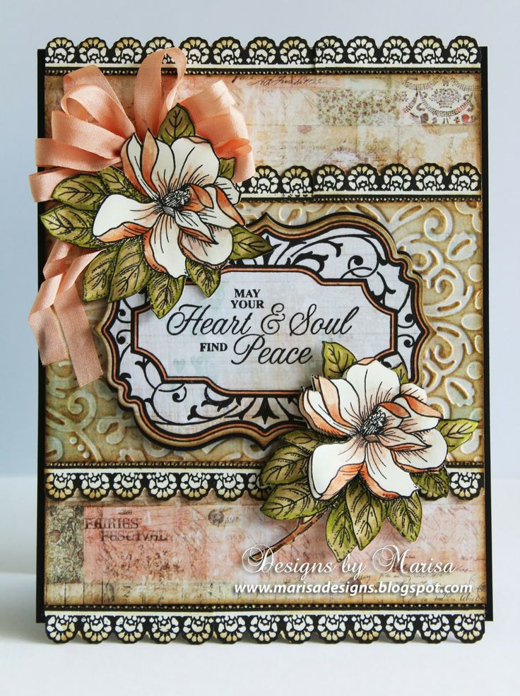 Designs by Marisa: JustRite Papercraft March Release - Magnolia Vintage Labels Seven Clear Stamps
