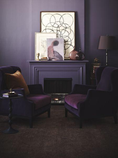 Best 25 Purple Living Rooms Ideas On Pinterest Purple Living Room Paint Purple Bedroom Walls