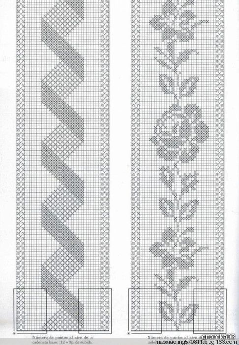 手钩床罩:1、美丽的面纱 - maomao - 我随心动: