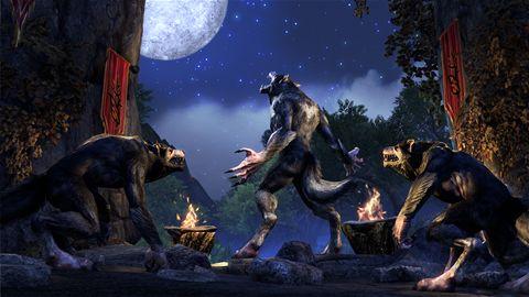 Becoming a werewolf in Elder Scrolls Online