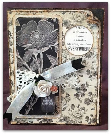 "My Card - Using Kaisercraft - ""Art of Life"" papers"