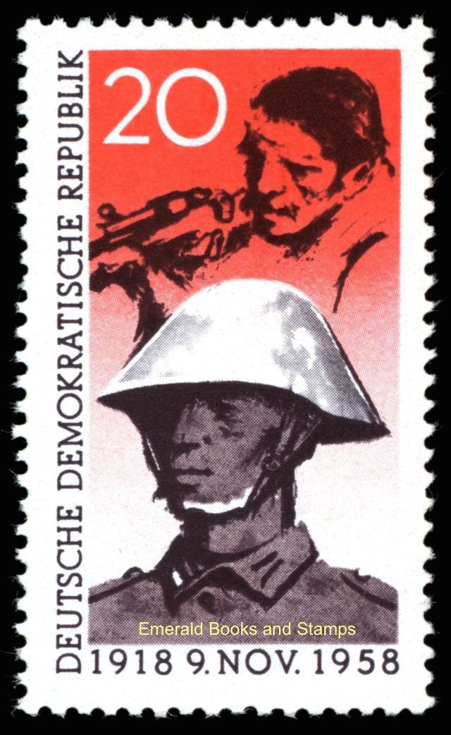 EBS East Germany DDR 1958 November Revolution Anniversary Michel 662 MNH** | eBay