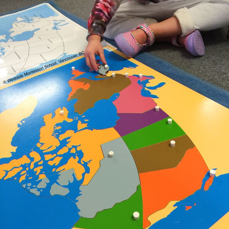 Map of CANADA for Kids: Part 1 -- Learn the Canadian ...