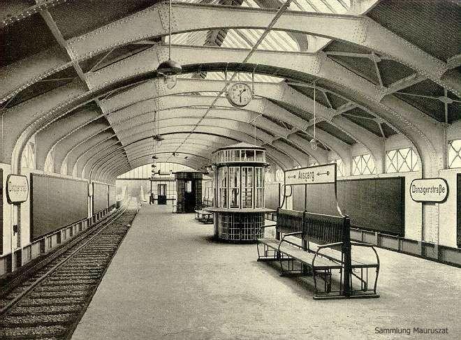1913, U-Bahnhof Danziger Straße