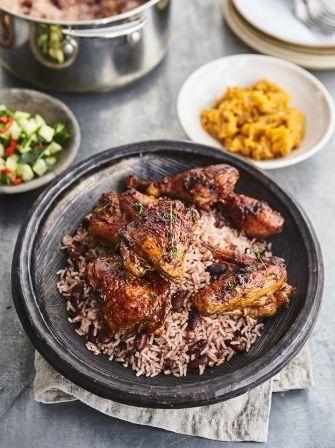 Craig David's Grenadian chicken