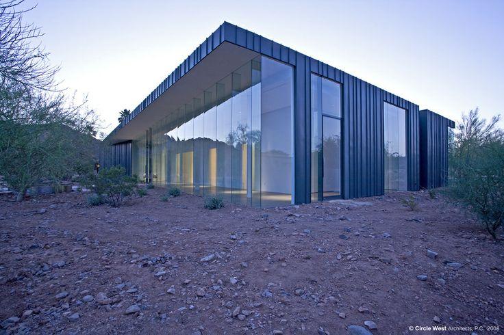 Desert House   дом в пустыне от Circle West Architects