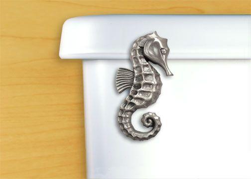 Seahorse Toilet Handle | Coastal Style Gifts