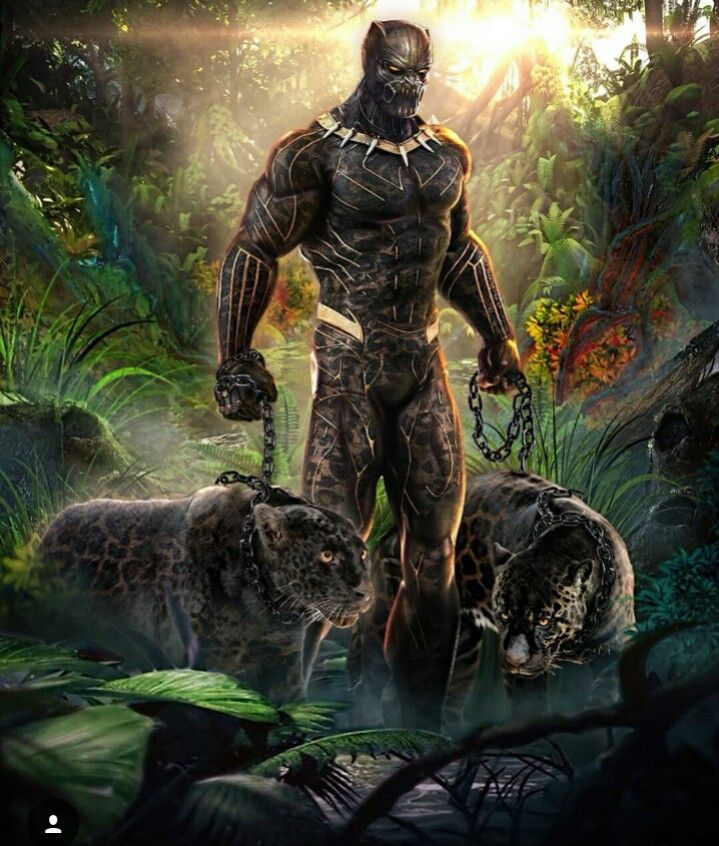 The Original Erik Killmonger Wallpaper Black Panther Marvel Panther Art Black Comics