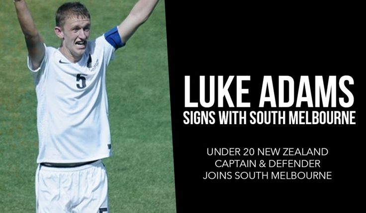 Luke Adams has captained New Zealand at Under 17 & Under 20 level, as well as playing with Derby County in England and Wellington Phoenix FC in the Hyundai A-League.  We are delighted to announce the signing young defender Luke Adams from Waitakere United for the 2015 NPL Victoria season.
