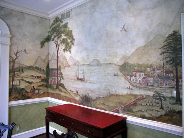 Pine Street Studios Gt Primitive Mural Panorama 3 Mural