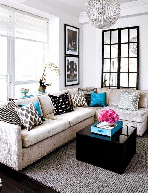 Más de 1000 ideas sobre decoracion de salas pequeñas en pinterest ...