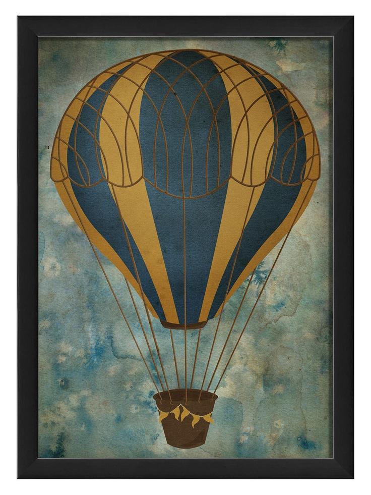 Hot Air Balloon 6 - Gilt Home