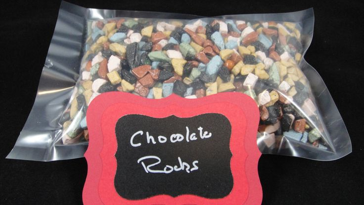 Chocolate Rocks - One Pound by MamaMiasCupcakes on Etsy https://www.etsy.com/listing/180469687/chocolate-rocks-one-pound