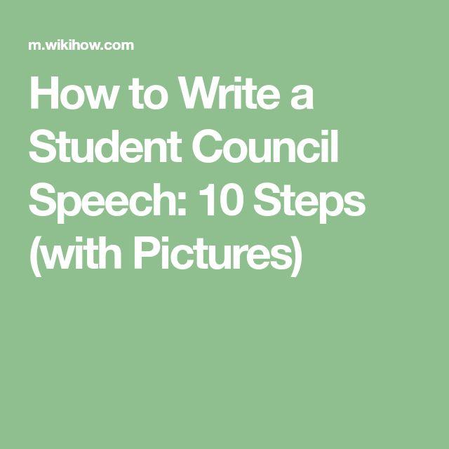 Best 25+ Student council speech ideas on Pinterest Leadership - impromptu speech template