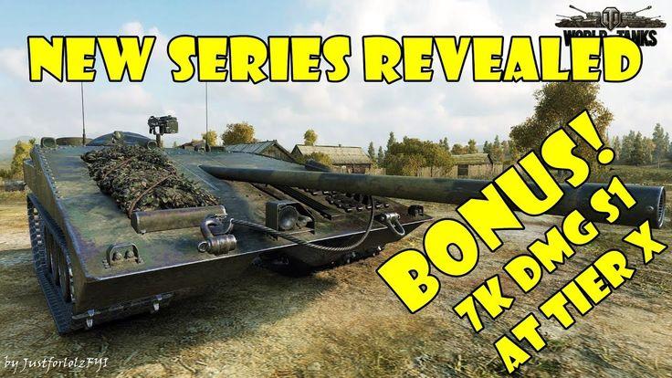 New WOT video series + bonus 7000 DMG STRV S1 at tier X!