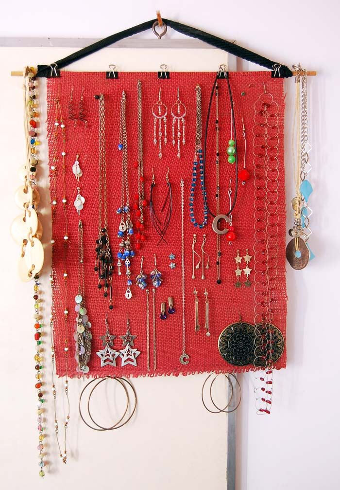 necklaces and earrings organizer - decyng