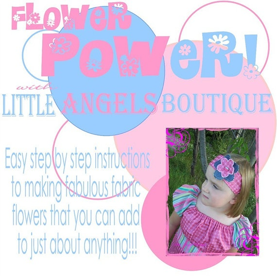 TUTORIAL EBOOK Boutique How To Make Fabric by littleangelsboutique, $10.00