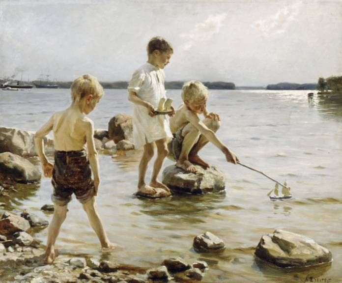 「Albert Edelfelt  water」の画像検索結果