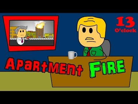 13 Action News - Apartment Fire