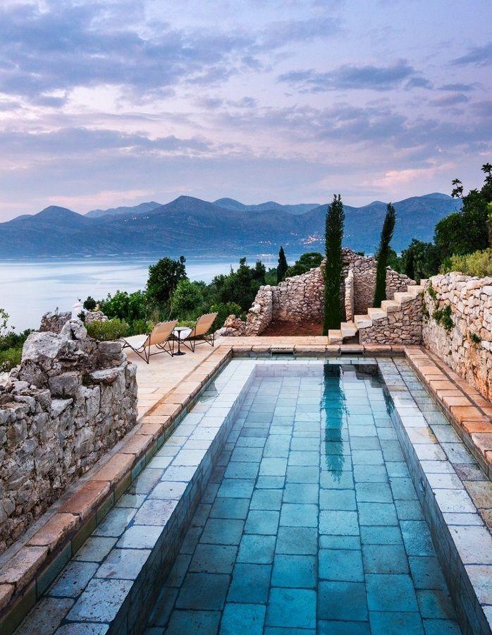 Las 25 mejores ideas sobre albercas peque as en pinterest for Piscina pequena terraza