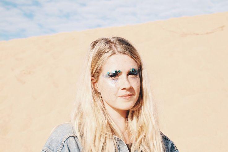 GALACTIC WASTELAND | Photography / fashion / creative concept / glitter art by The Honest Jones & Emma Pitman