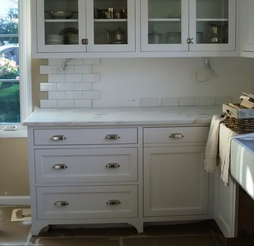 Images Of Kitchens Painted Bm Simply White