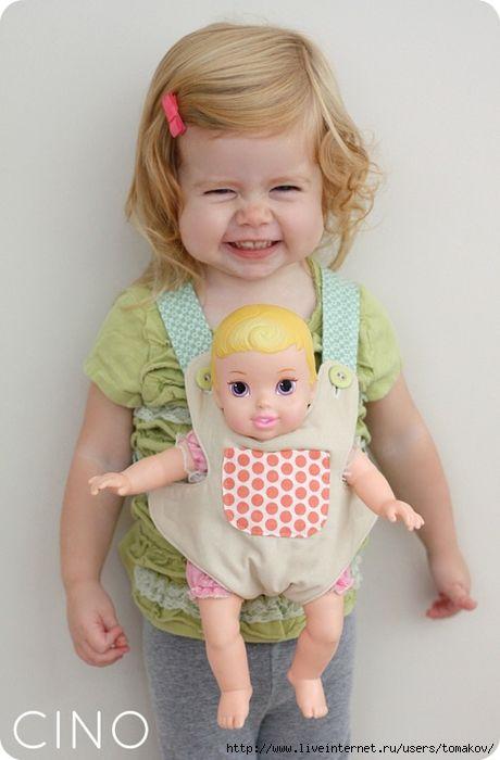 Мобильный LiveInternet Слинг для куклы. Идея | tomakov - Дневник tomakov. |